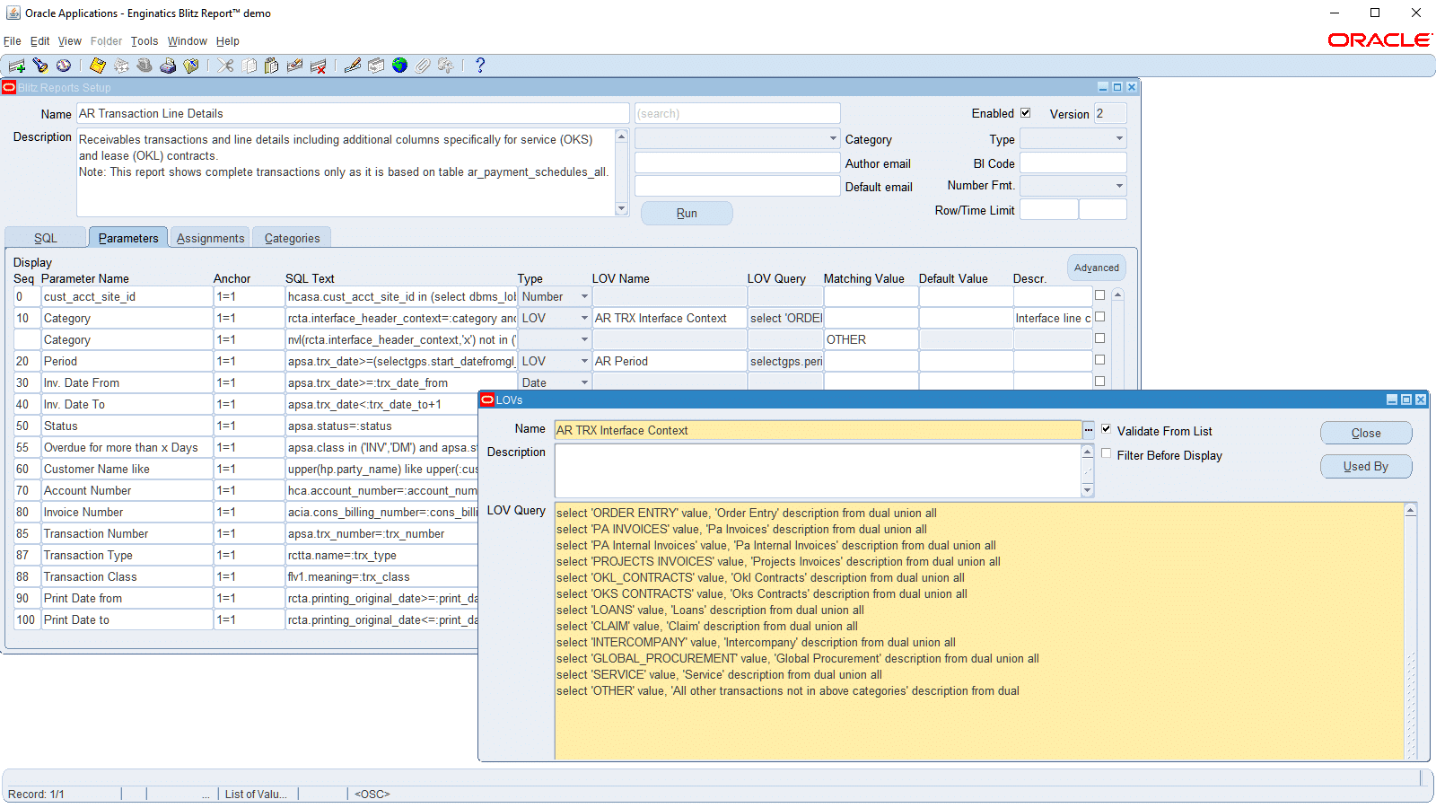 Enginatics simple oracle e business suite reporting blitz baditri Image collections